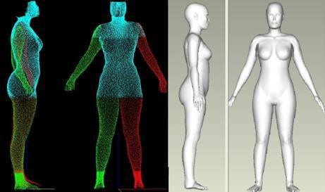 3d Body Measurements Scanner Software - Visualization 81