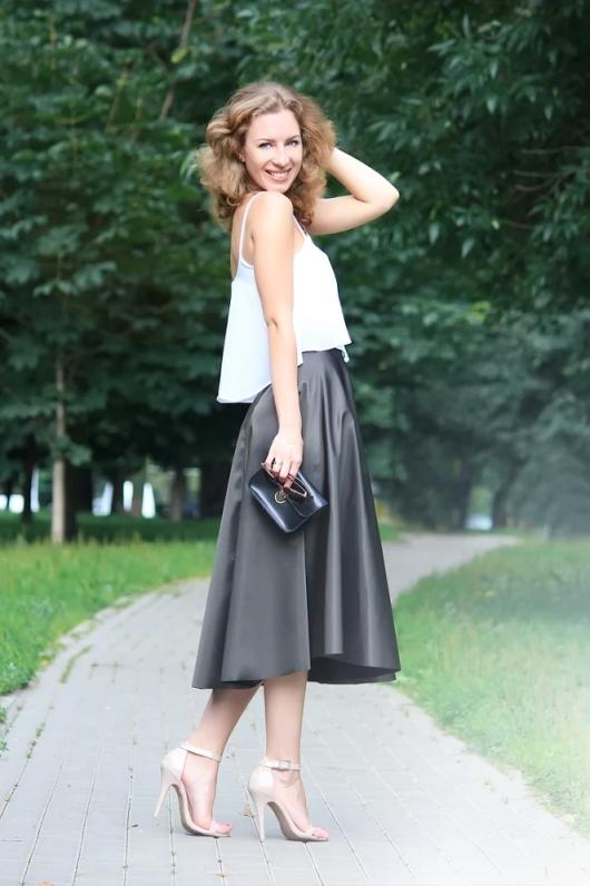 Metallic skirt / Юбка-металлик
