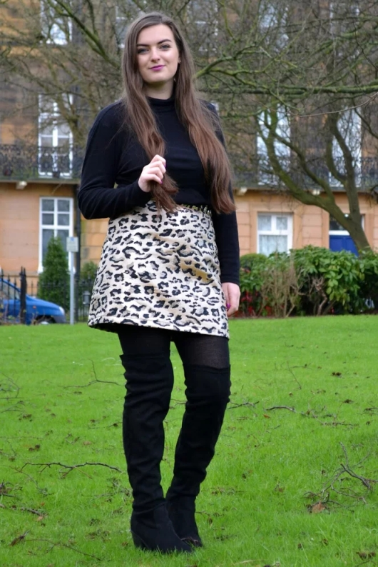Fashion: Metallic Leopard Print - RACHEL NICOLE