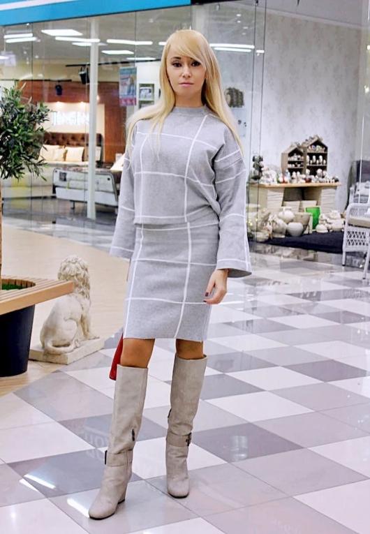 Shopping in Zaful: Трикотажный костюм-