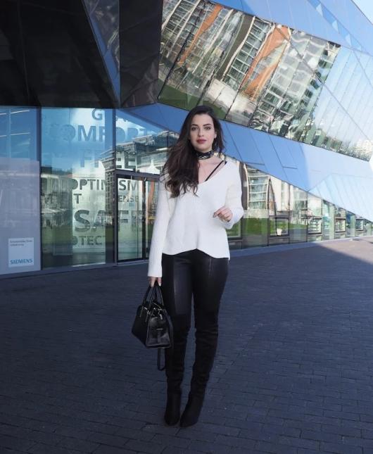 Winter 2017 Fashion Trends: Black & White Classic