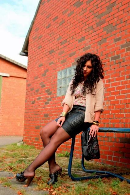 Leather Skirt - that rocks! | Tamina Jay - Fashion blog from Hamburg, Germany