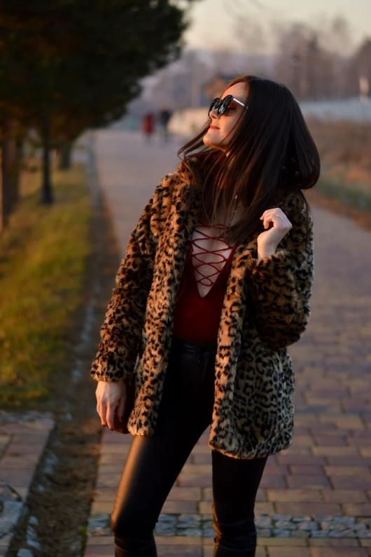fur leopard