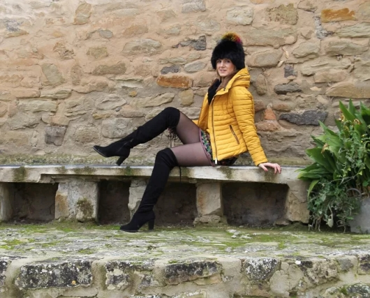mydreams: FUR HAT AND MUSTARD